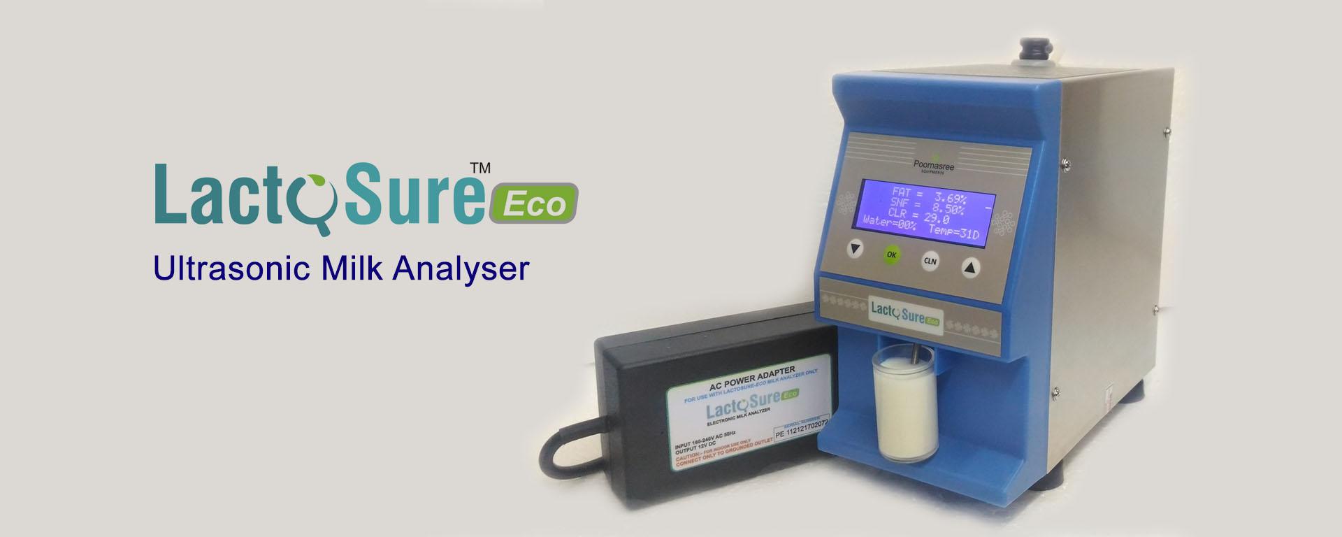 Digital Milk Analyser